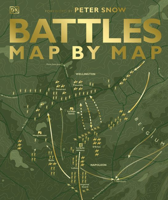 Hardback cover of Battles Map by Map