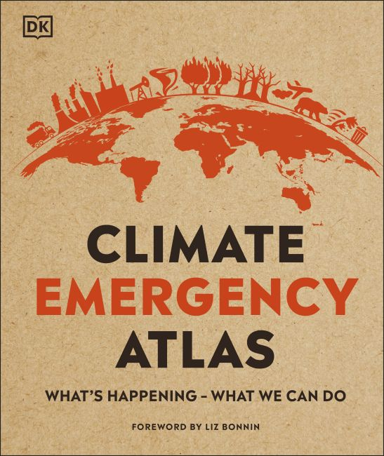Hardback cover of Climate Emergency Atlas