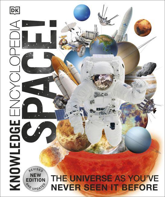 Hardback cover of Knowledge Encyclopedia Space!