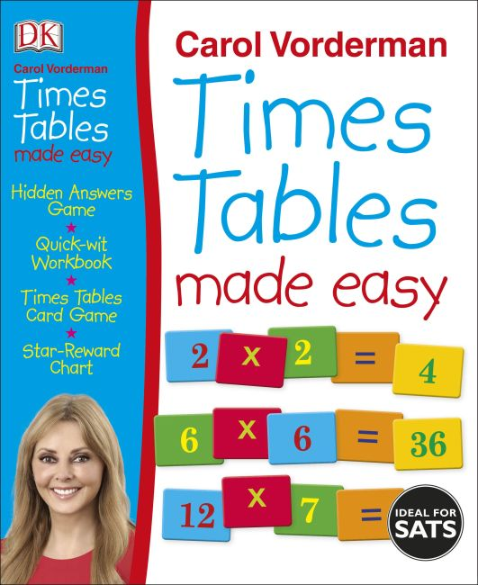 Paperback cover of Times Tables Made Easy