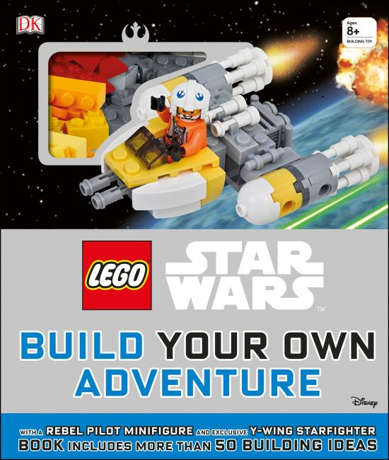 Hardback cover of LEGO® Star Wars Build Your Own Adventure