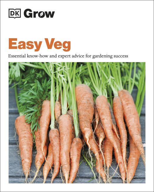Paperback cover of Grow Easy Veg