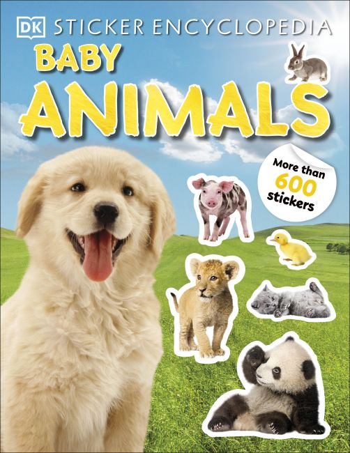 Paperback cover of Sticker Encyclopedia Baby Animals