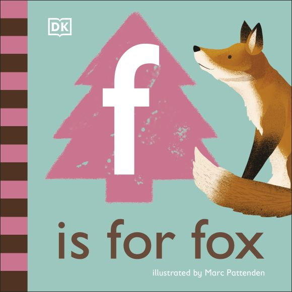 Board book cover of F is for Fox