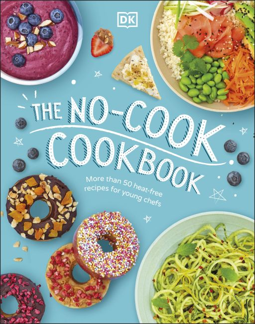 Hardback cover of The No-Cook Cookbook
