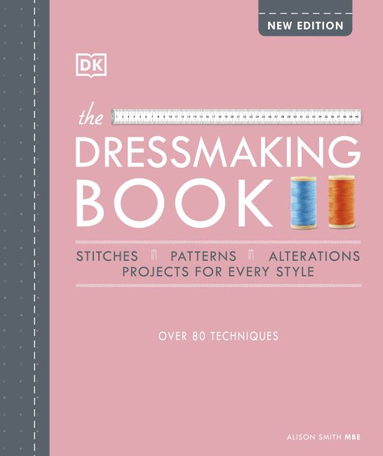 Hardback cover of The Dressmaking Book