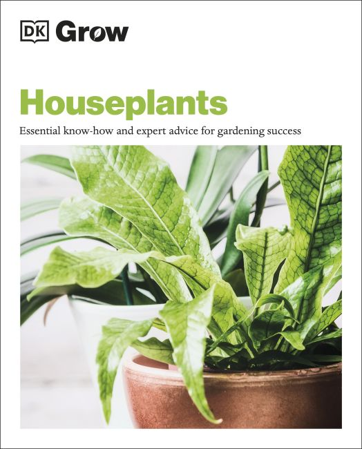 Paperback cover of Grow Houseplants