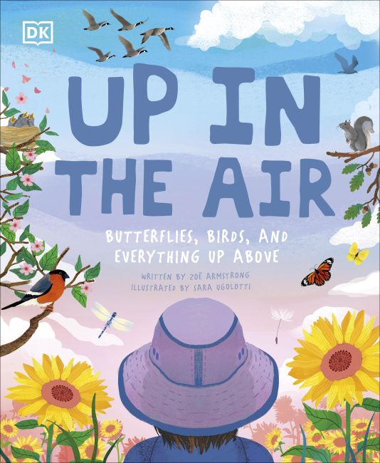 Hardback cover of Up in the Air