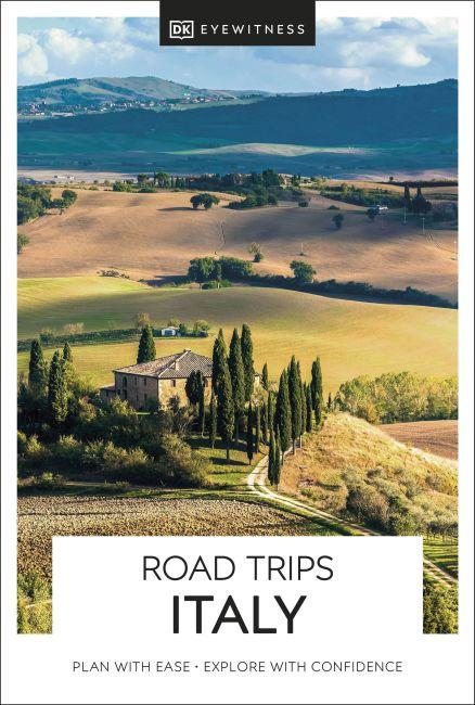 Paperback cover of DK Eyewitness Road Trips Italy
