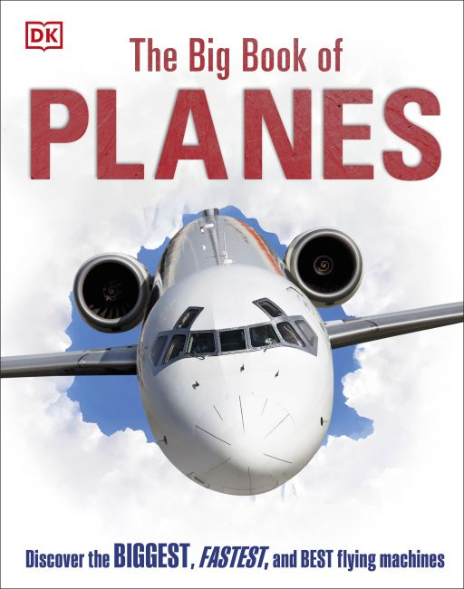 Hardback cover of The Big Book of Planes