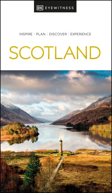 Paperback cover of DK Eyewitness Scotland