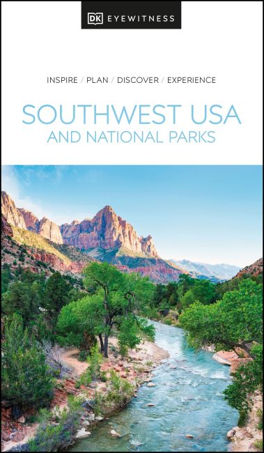 Paperback cover of DK Eyewitness Southwest USA and National Parks