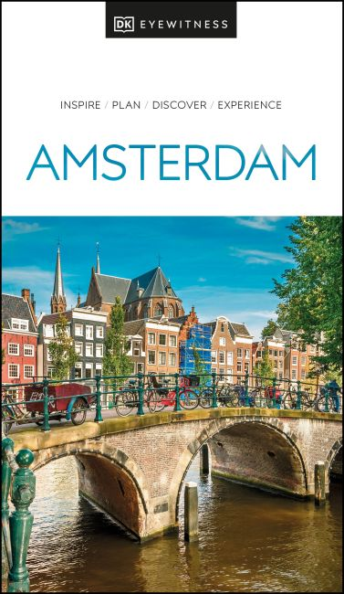 Paperback cover of DK Eyewitness Amsterdam