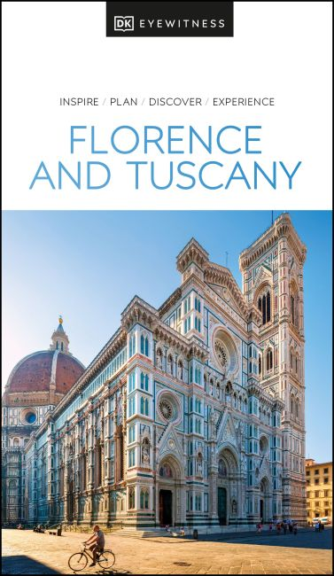Paperback cover of DK Eyewitness Florence and Tuscany