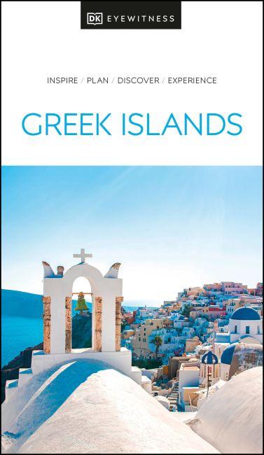 Paperback cover of DK Eyewitness Greek Islands