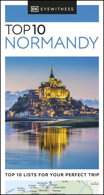 Paperback cover of DK Eyewitness Top 10 Normandy