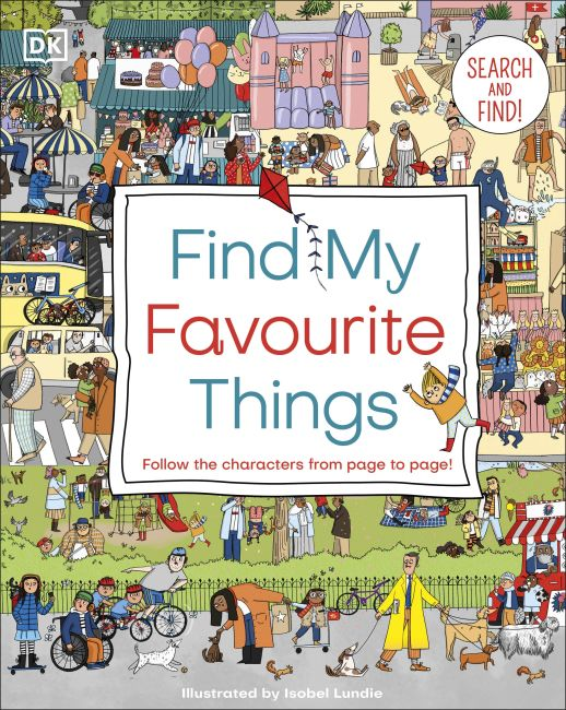 Board book cover of Find My Favourite Things