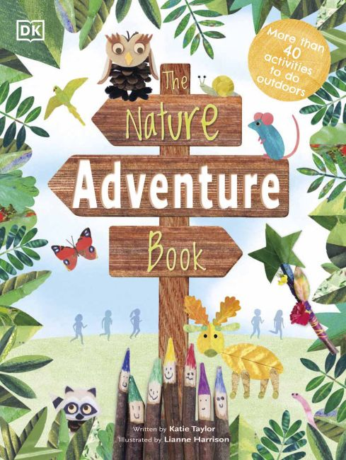 Hardback cover of The Nature Adventure Book