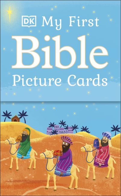 Paperback cover of My First Bible Picture Cards
