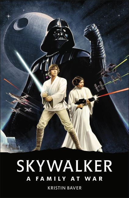 Hardback cover of Star Wars Skywalker – A Family At War