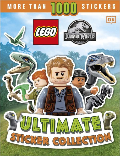 Paperback cover of LEGO Jurassic World Ultimate Sticker Collection