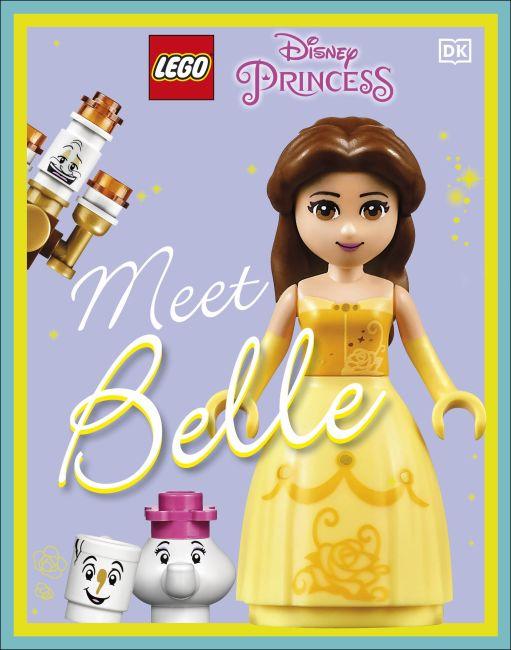 Hardback cover of LEGO Disney Princess Meet Belle