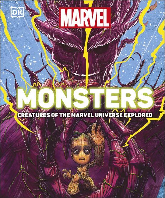 Hardback cover of Marvel Monsters