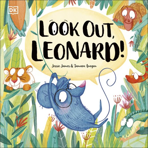 Paperback cover of Look Out, Leonard!