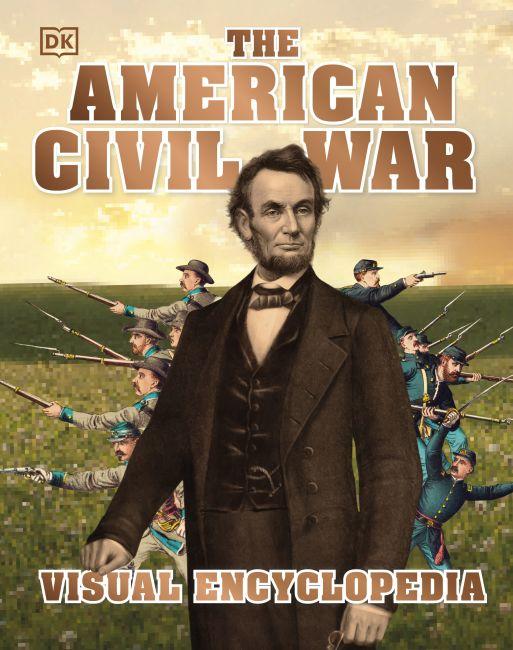 Hardback cover of The American Civil War Visual Encyclopedia