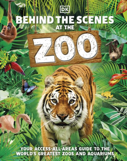 Hardback cover of Behind the Scenes at the Zoo