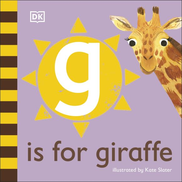 Board book cover of G is for Giraffe