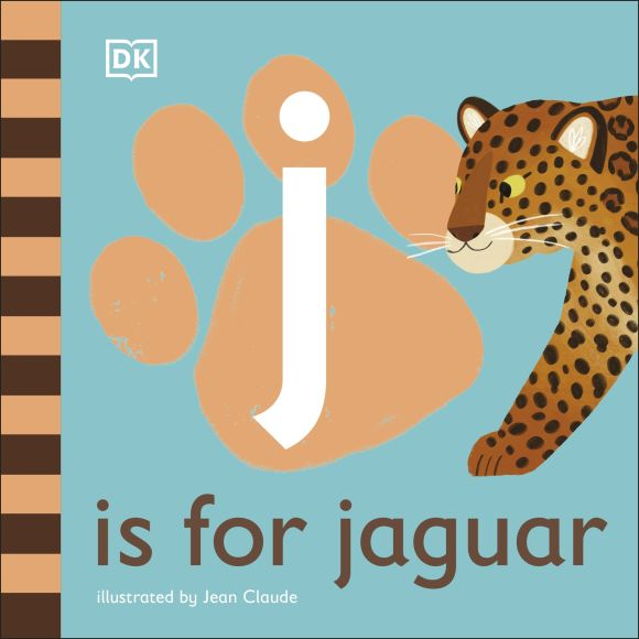 Board book cover of J is for Jaguar