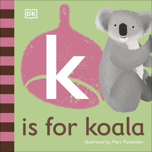 Board book cover of K is for Koala