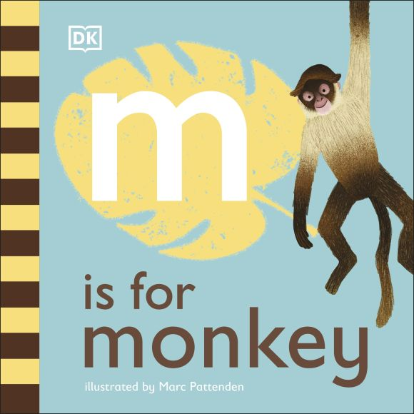 Board book cover of M is for Monkey