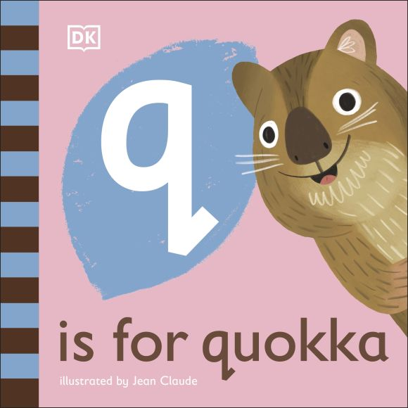 Board book cover of Q is for Quokka