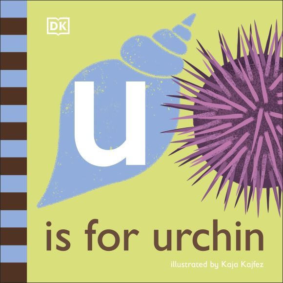 Board book cover of U is for Urchin