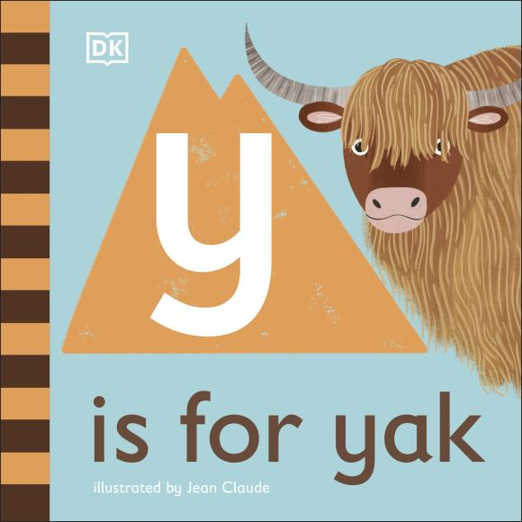 Board book cover of Y is for Yak
