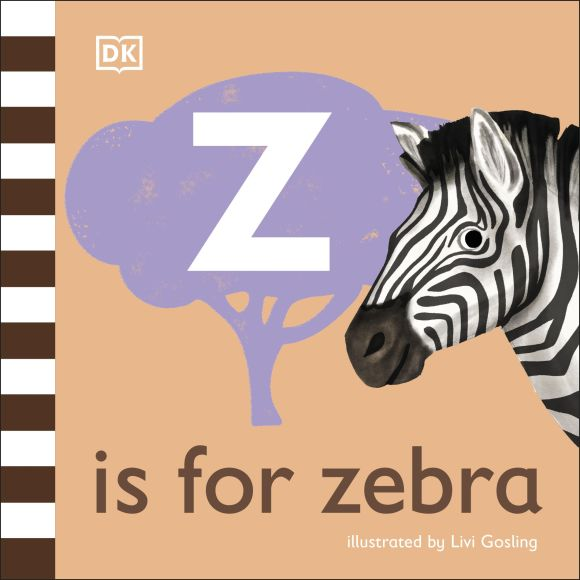 Board book cover of Z is for Zebra