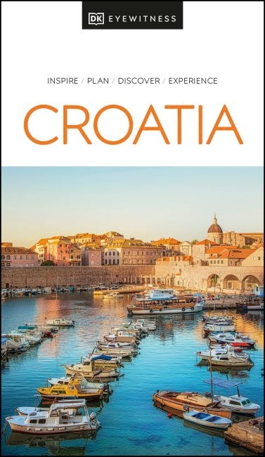 Paperback cover of DK Eyewitness Croatia