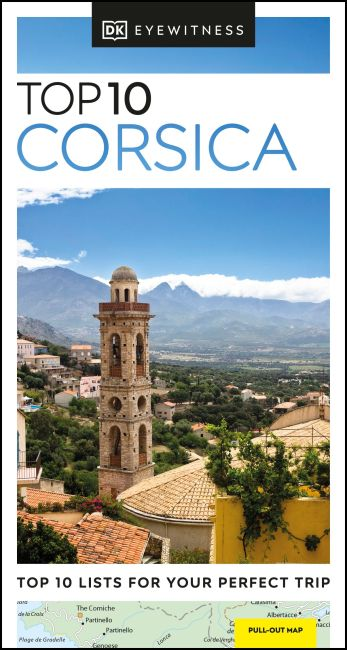 Paperback cover of DK Eyewitness Top 10 Corsica
