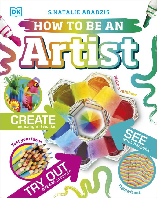 Hardback cover of How To Be An Artist