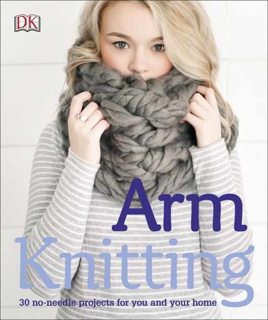 eBook cover of Arm Knitting