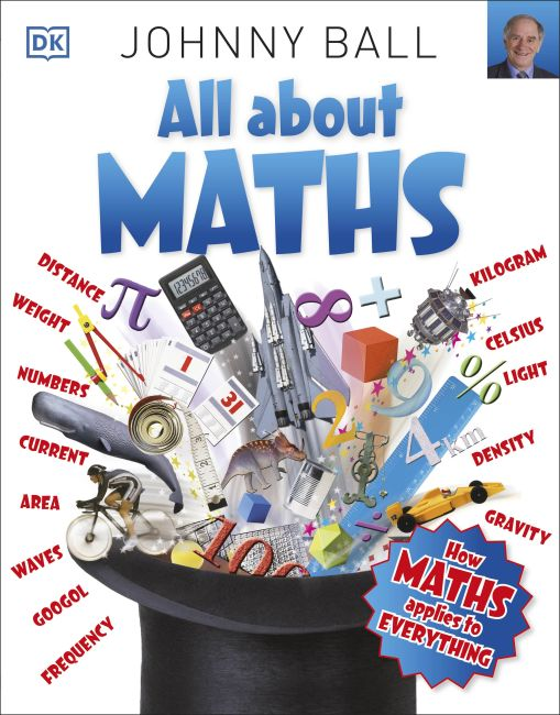 Paperback cover of All About Maths