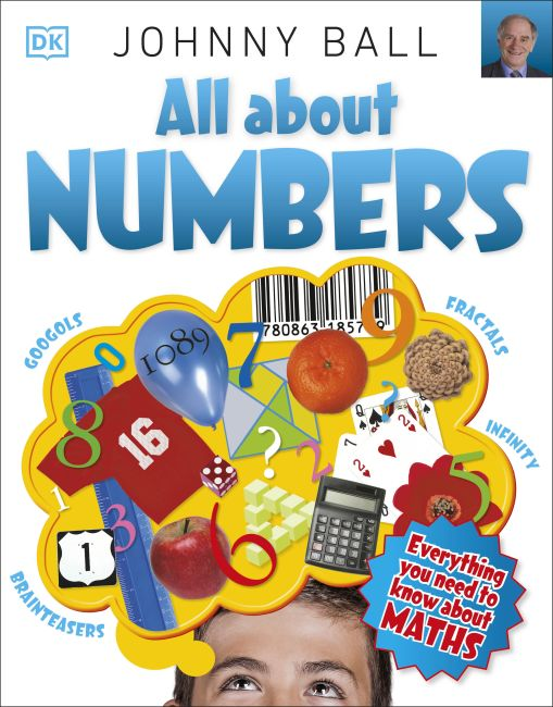 Paperback cover of All About Numbers