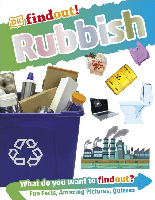 Paperback cover of DKfindout! Rubbish