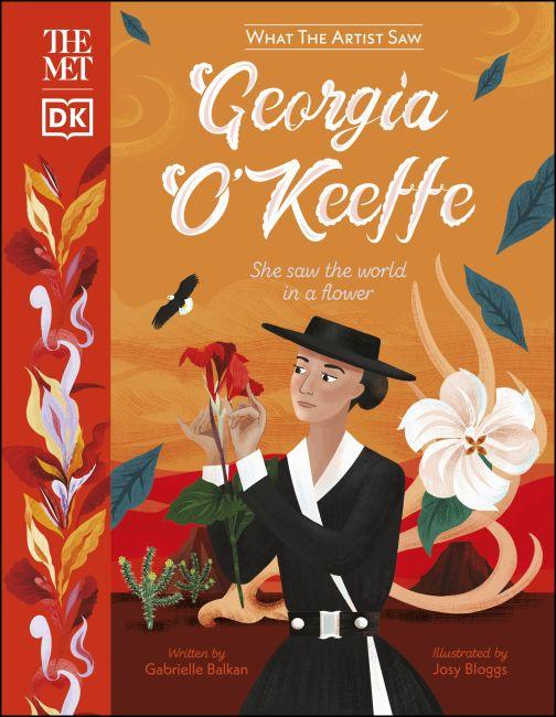 Hardback cover of The Met Georgia O'Keeffe