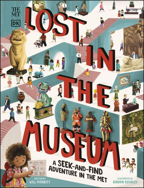 Hardback cover of The Met Lost in the Museum