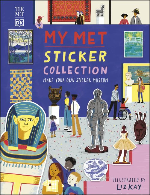 Paperback cover of My Met Sticker Collection