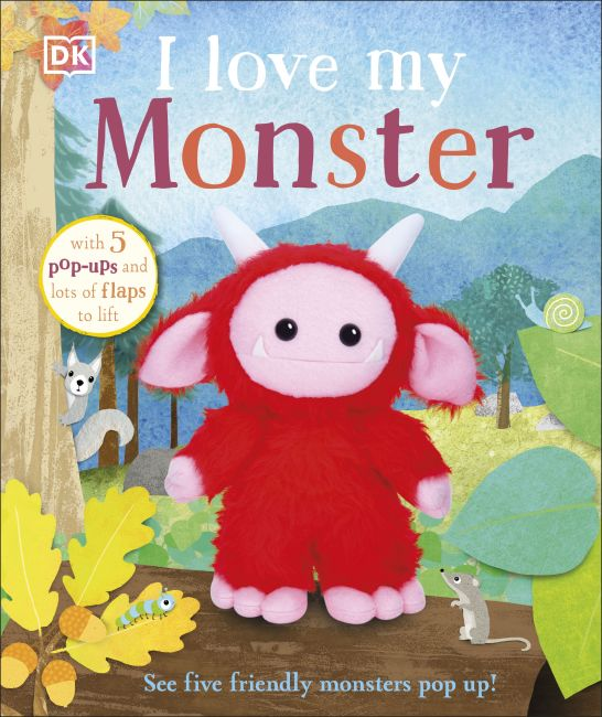 Board book cover of I Love My Monster
