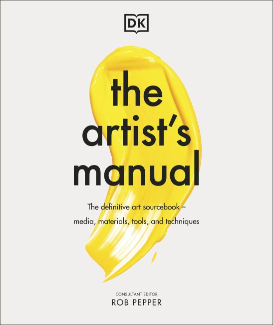 Hardback cover of The Artist's Manual